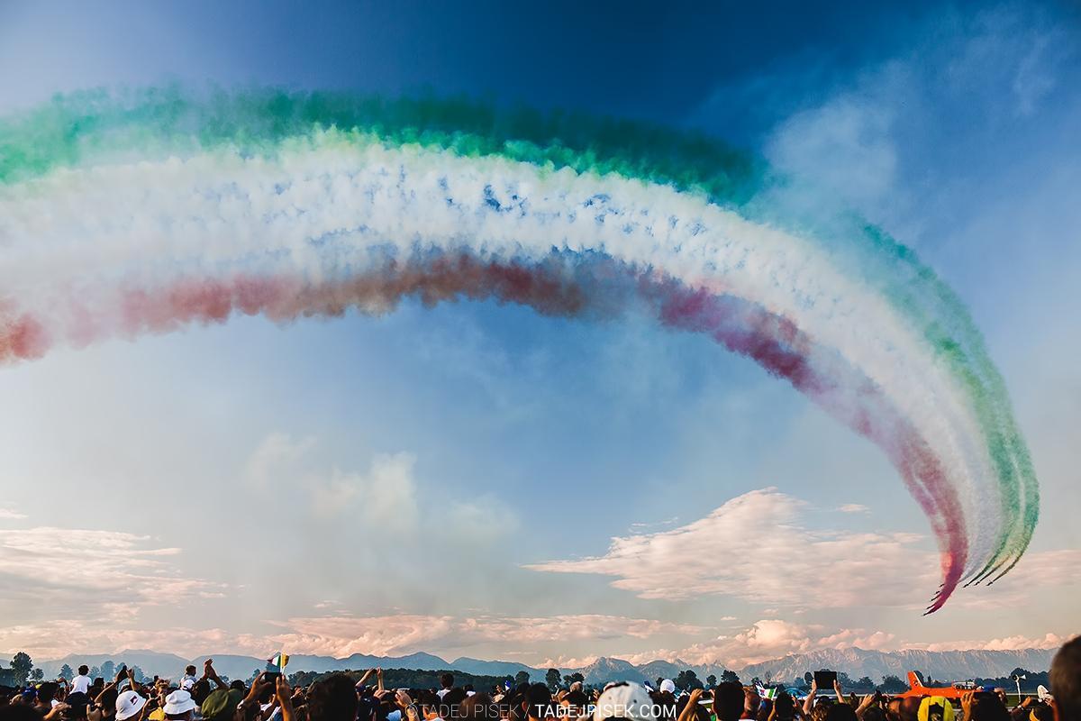 Frecce Tricolori 55 Anniversary 2015